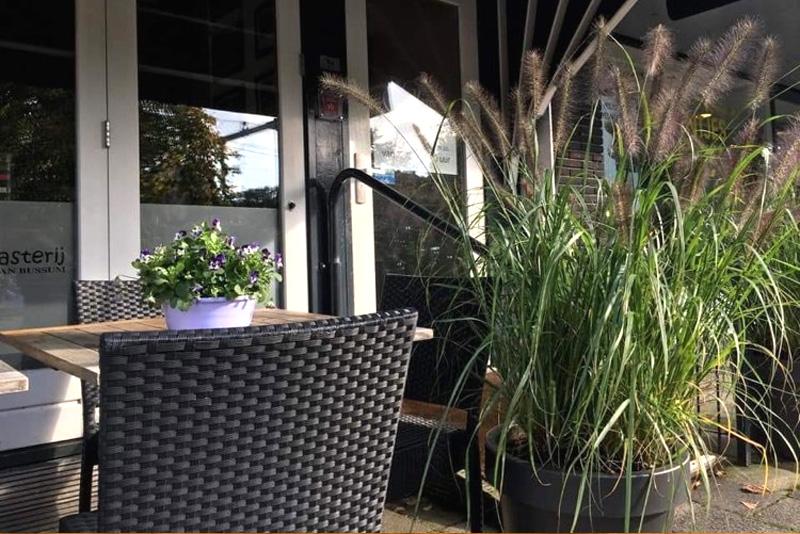 Gasterij van Bussum terras